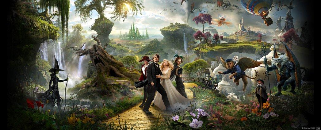 Oz, James Franco, Mila Kunis, Movie Review