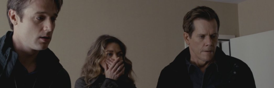 The Following Kevin Bacon as Ryan Harding, Natalie Zea as Claire Matthews