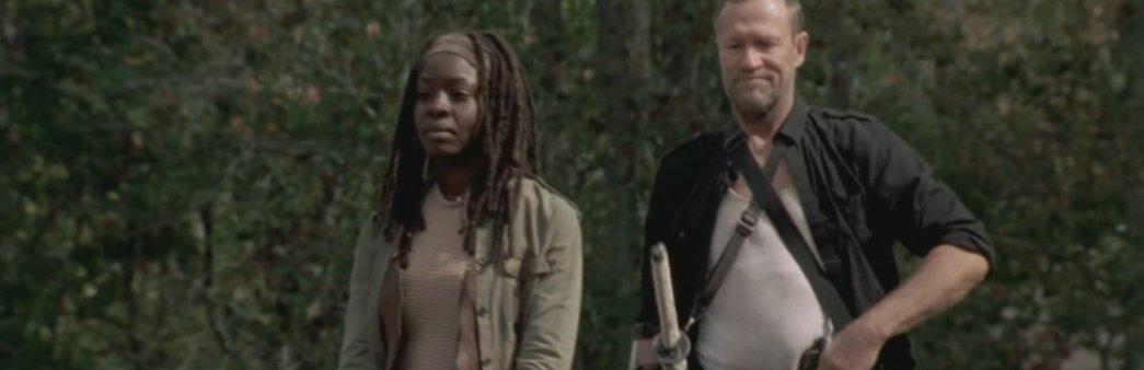 Merle, Michael Rooker, Michonne, Danai Gurira, Walking Dead