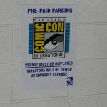 San Diego Comic-Con 2014 Parking Sale