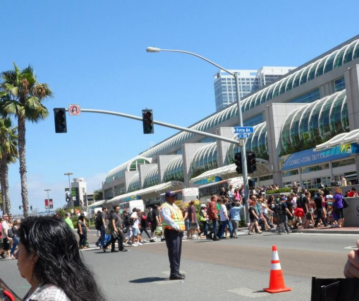 Comic-Con crosswalk
