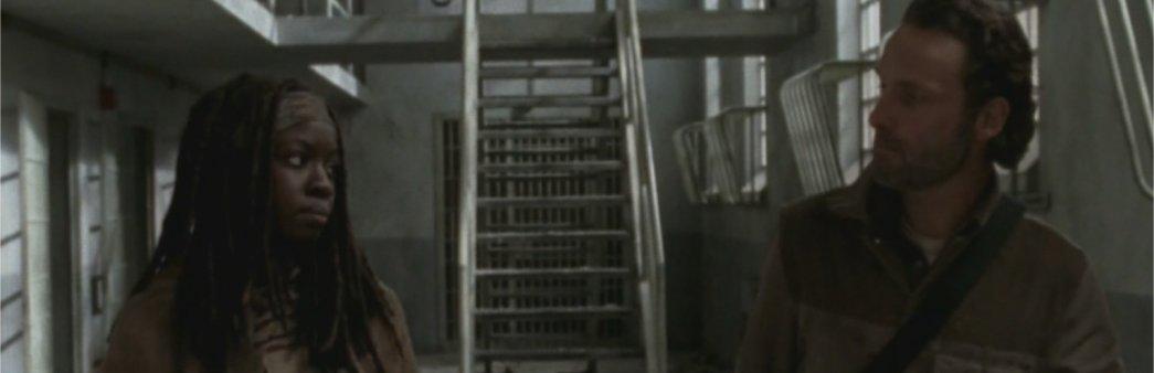 Walking Dead Finale Michonne Rick