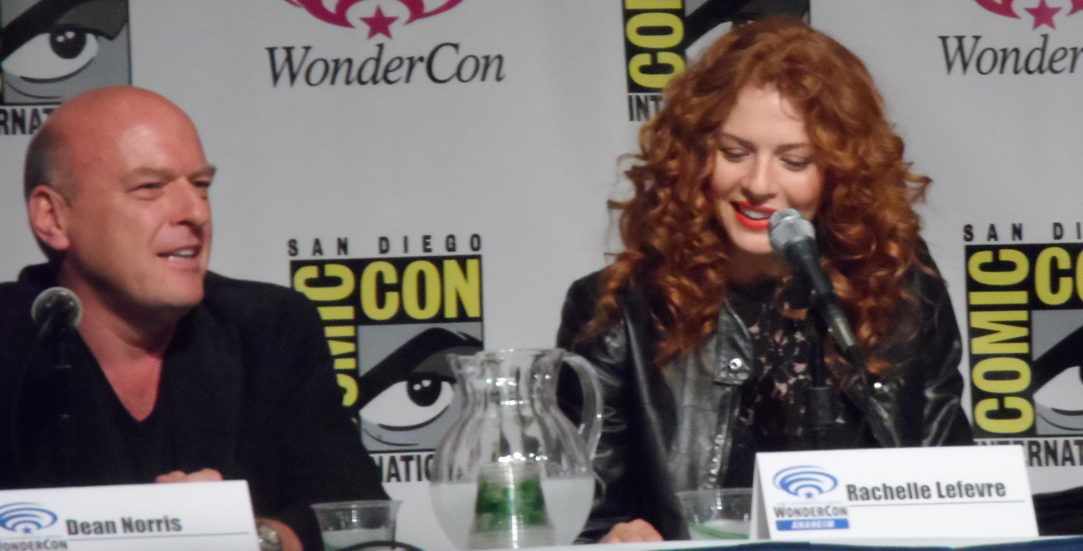 Wondercon, Under the Dome, Dean Norris, Rachelle Lefevre