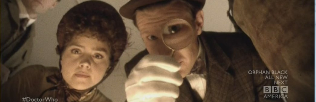 Clara, The Doctor, The Crimson Horror