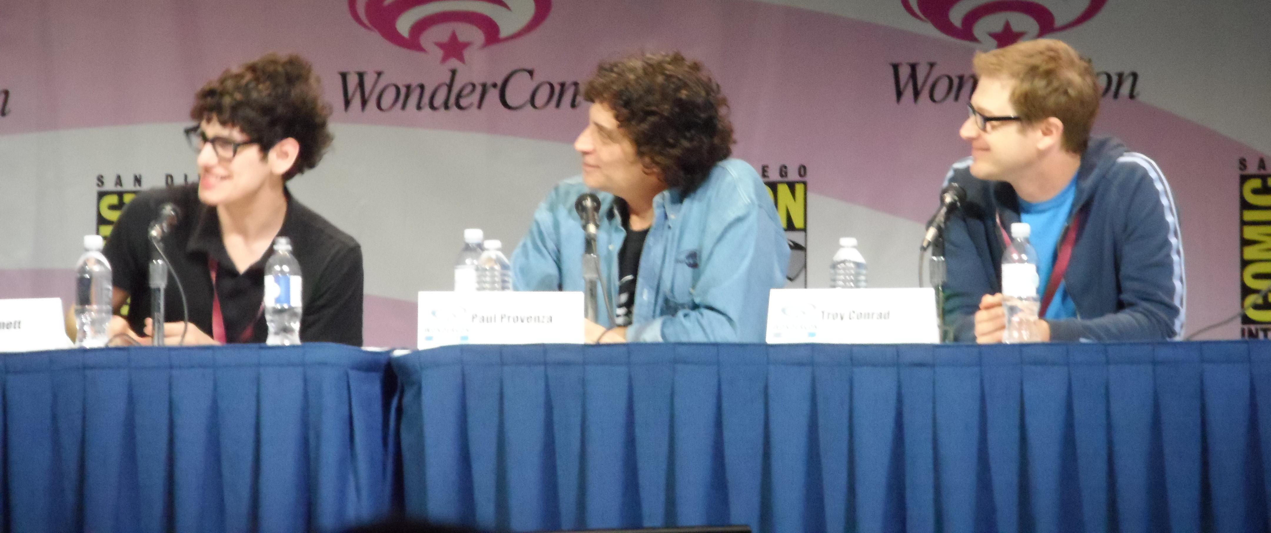 Wondercon Anaheim 2013, The Nerdist, Matt Bennett, Paul Provenza, Troy Conrad