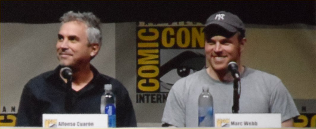 Alfonso Cuaron, Marc Webb, The Visionaries, Comic-Con 2013