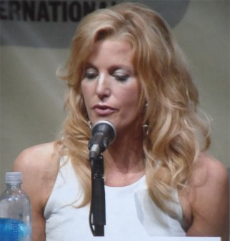 Anna Gunn as Skyler White Comic-Con 2013 Breaking Bad panel