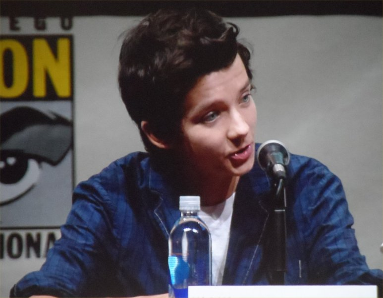 Asa Butterfield, Ender's Game, Comic-Con 2013