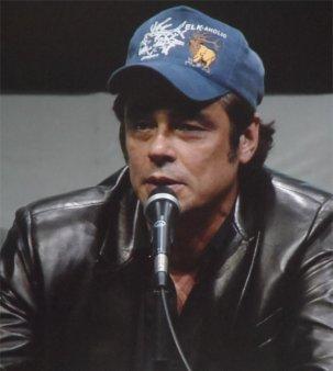 Benicio Del Toro The Collector Guardians of the Galaxy Comic-Con 2013