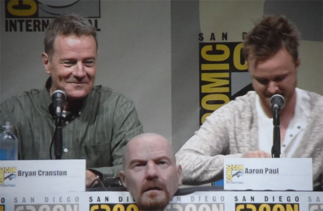 Bryan Cranston and Aaron Paul Breaking Bad Panel Comic-Con 2013