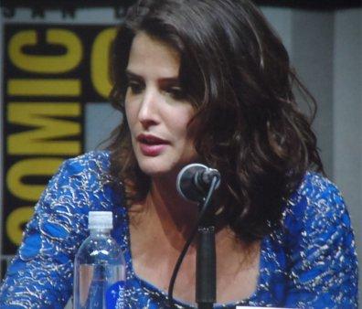 Cobie Smulders Maria Hill Captain America The Winter Soldier Comic-Con 2013