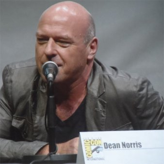 Dean Norris as Hank Schrader Comic-Con 2013 Breaking Bad Panel