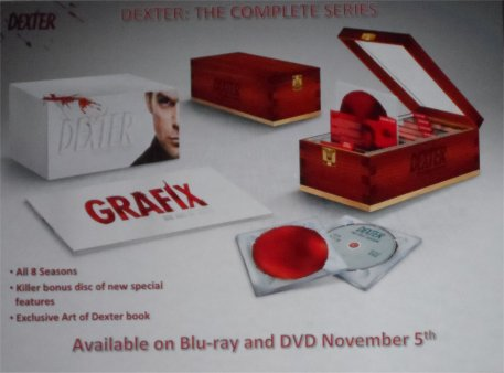 DVD Set for Dexter announced at Comic-con