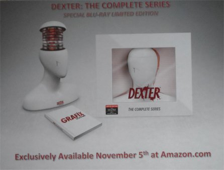 Blu Ray DVD set for Dexter full series