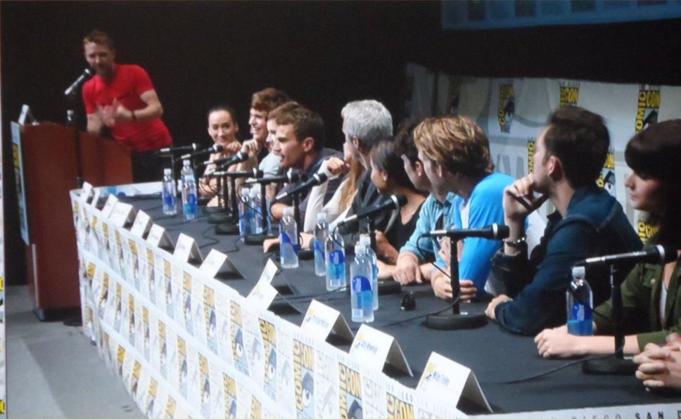 Divergent, Comic-Con 2013