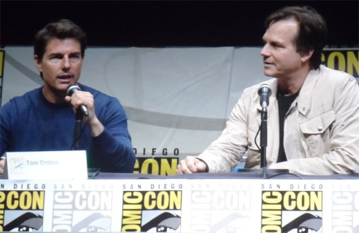 Edge of Tomorrow Tom Cruise and Bill Paxton, Comic-Con 2013