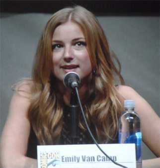 Emily Van Camp, Sharon Carter (Agent 13) Captain America The Winter Soldier Comic-Con 2013