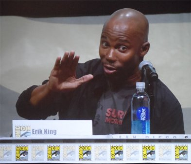 Erik King at San Diego Comic-Con 2013 for Dexter