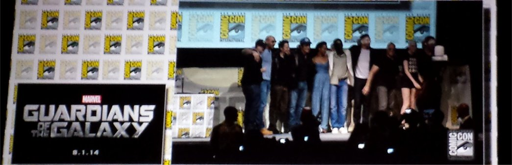 Guardians of the Galaxy cast Comic-Con 2013