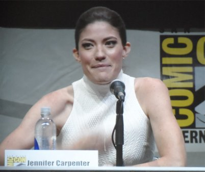 Jennifer Carpenter at Dexter panel for Comic-Con 2013, in San Diego