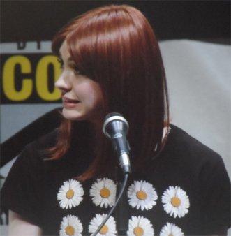 Karen Gillan, Nebula, Guardians of the Galaxy Comic-Con 2013
