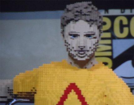 Lego Chris Hardwick Comic-con 2013