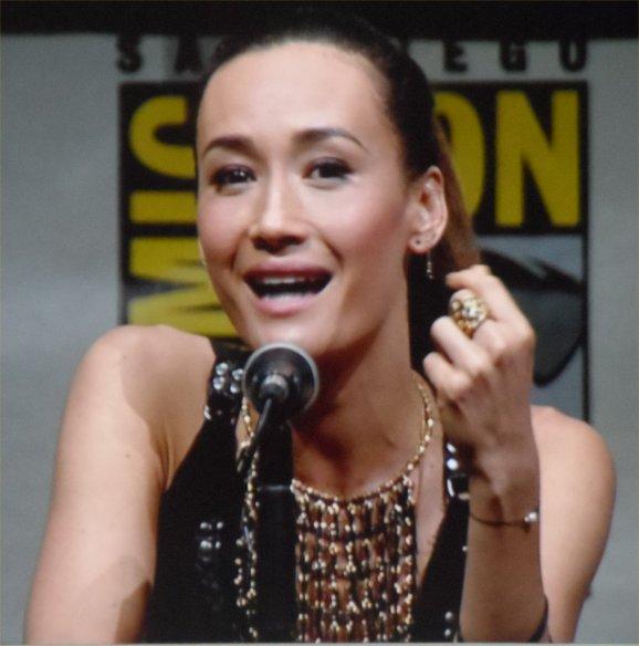 Maggie Q, Divergent, Comic-Con 2013