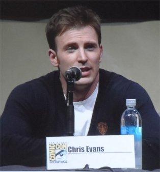 Chris Evans, Captain America: The Winter Soldier Comic-Con 2013