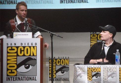 Chris Hardwick Kevin Feige Marvel Panel Comic-Con 2013