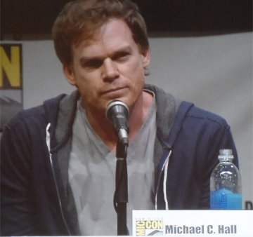 Michael C Hall, in Hall H Comic-Con 2013 for Dexter
