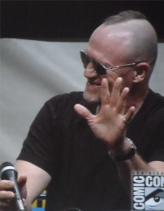 Michael Rooker as Yondu Guaardians of the Galaxy Comic-Con 2013