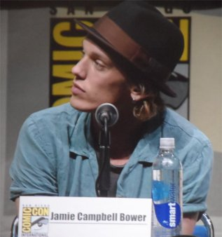 Jamie Campell Bower Mortal Instruments Comic Con 2013