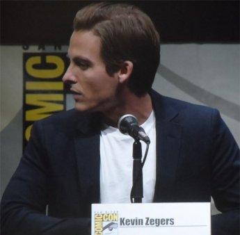 Kevin Zegers at Comic-Con 2013 Mortal Instruments