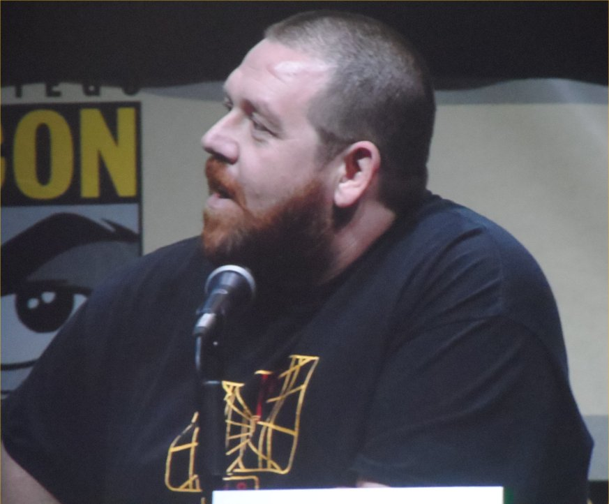 Nick Frost, The World's End, Comic-Con 2013