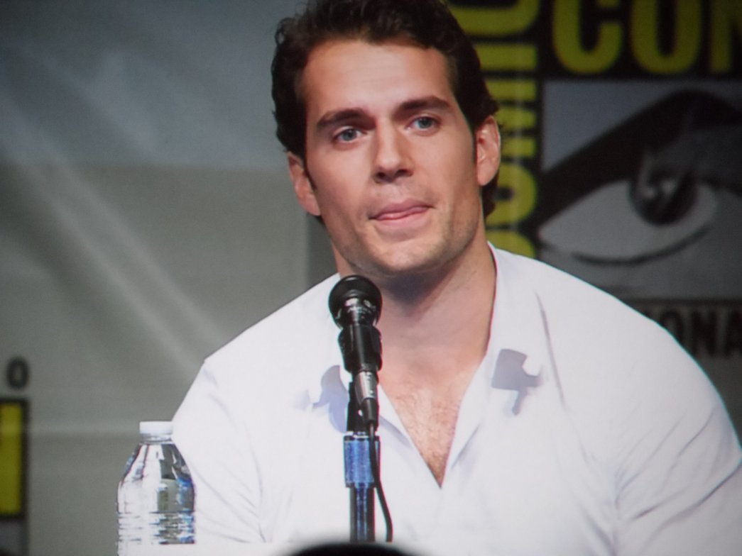 Henry Cavill, Man of Steel, Comic-Con 2012