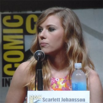 Scarlet Johansson as Natasha Romanoff Captain America The Winter Soldier, Comic-Con 2013