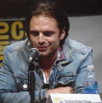 Sebastian Stan, Bucky Barnes Captain America The Winter Soldier Comic-Con 2013