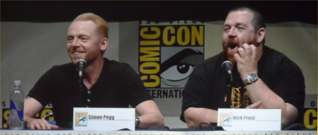 Simon Pegg, Nick Frost, Comic-Con 2013, The World's End