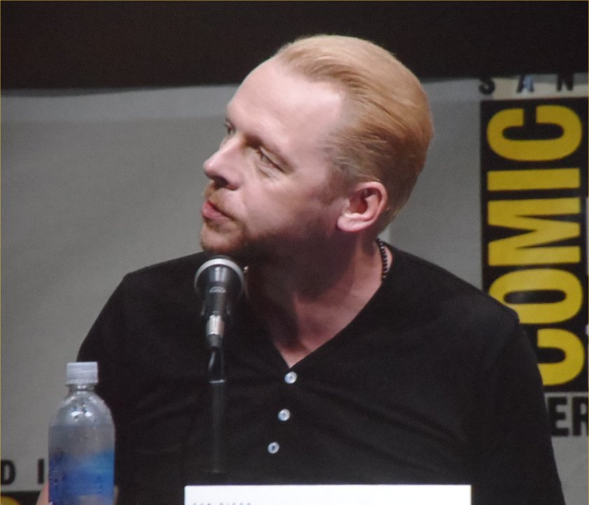 Simon Pegg, The World's End, Comic-Con 2013