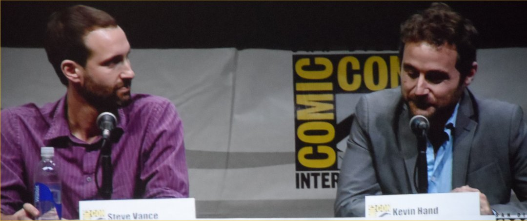 Steve Vance, Kevin Hand, Europa Report, Comic-Con 2013