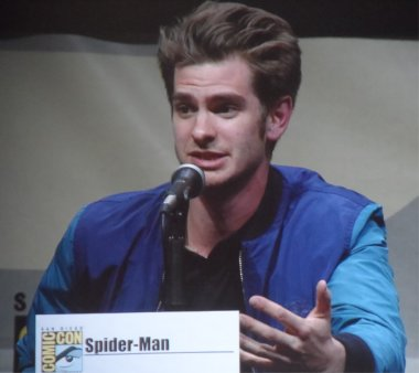 The Amazing Spiderman Andrew Garfield Comic Con 2013