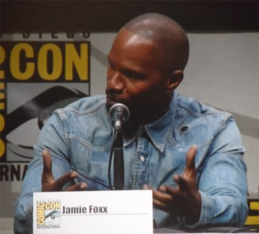 The Amazing Spiderman Jamie Foxx Comic Con 2013