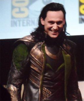 Tom Hiddleston as Loki, Comic-Con 2013 for Thor: The Dark World