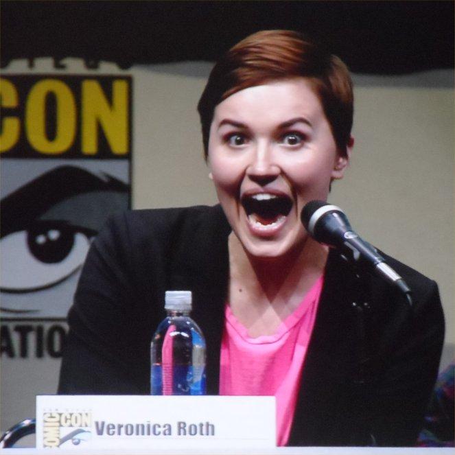 Veronica Roth, Divergent, Comic-Con 2013