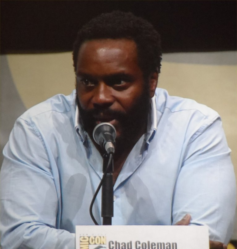 The Walking Dead, Chad Coleman, Comic-Con 2013