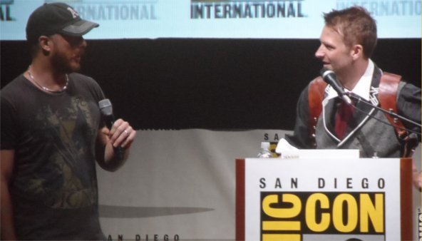 Duncan Jones at Comic-Con, for Warcraft Movie