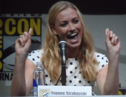 Yvonne Strahovski at Comic-Con for Dexter, 2013 San Diego in Hall H