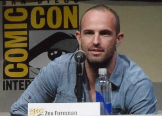 Zev Foreman, The Zero Theorem, Comic-Con 2013