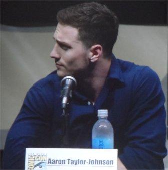 aaron taylor-johnson comic con 2013 kickass 2