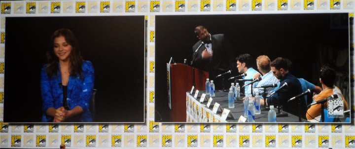 hit girl video conference to comic con 2013 for kickass 2